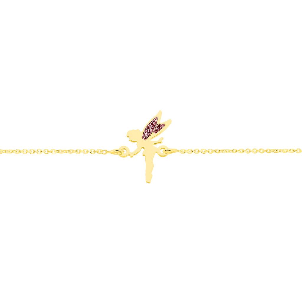 Bracelet Feelia Or Jaune - Bracelets Naissance Enfant   Histoire d'Or