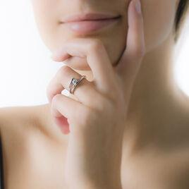 Bague Mary-paule Argent Blanc Oxyde De Zirconium - Bagues solitaires Femme | Histoire d'Or