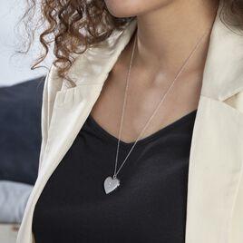 Collier Cahida Argent Blanc Oxyde De Zirconium - Colliers Etoile Femme | Histoire d'Or