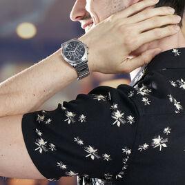 Montre Armani Exchange Drexler Noir - Montres Homme | Histoire d'Or