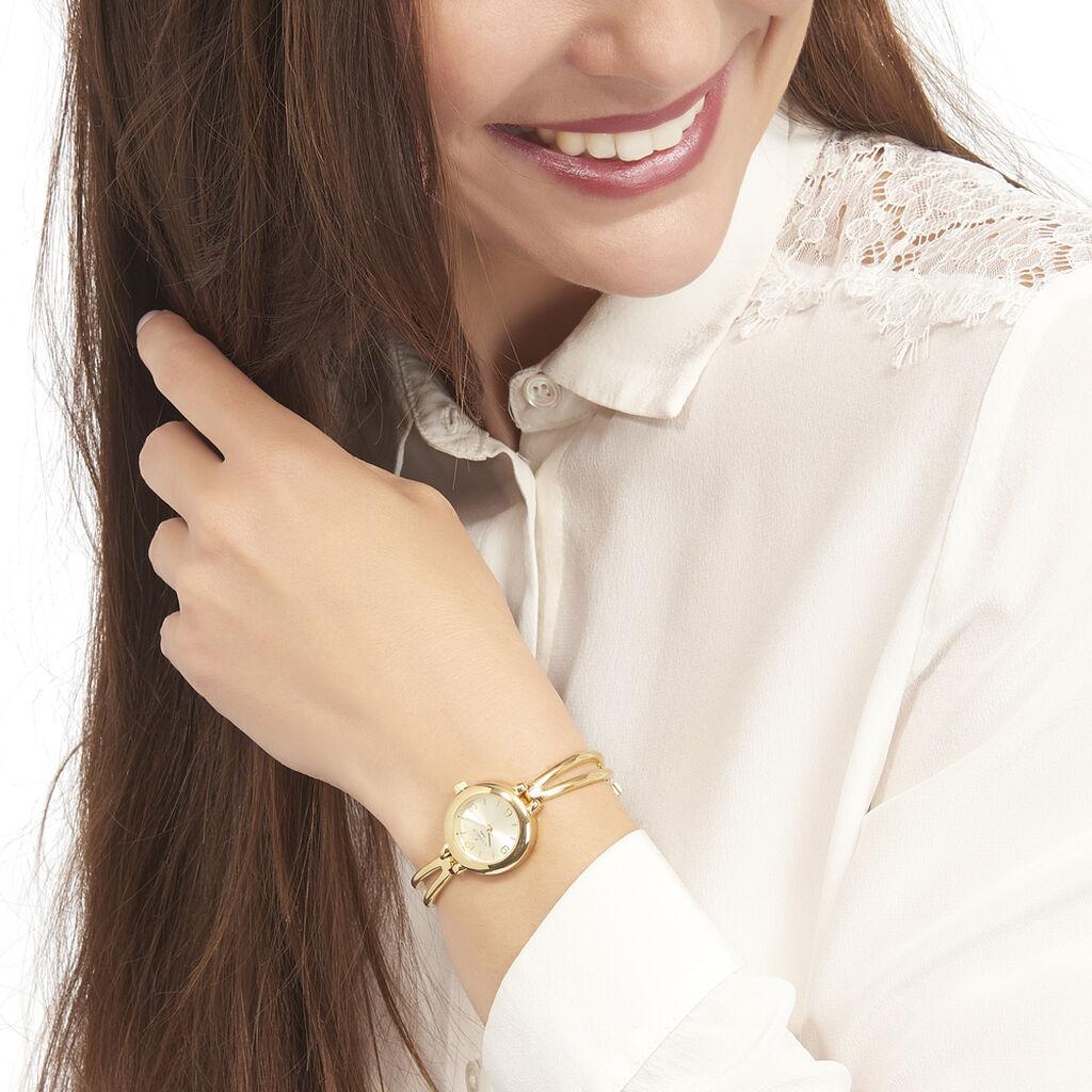 Montre Codhor Leila Champagne - Montres classiques Femme | Histoire d'Or