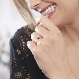 Bague Aliciana Argent Rose Oxyde De Zirconium - Bagues Etoile Femme | Histoire d'Or