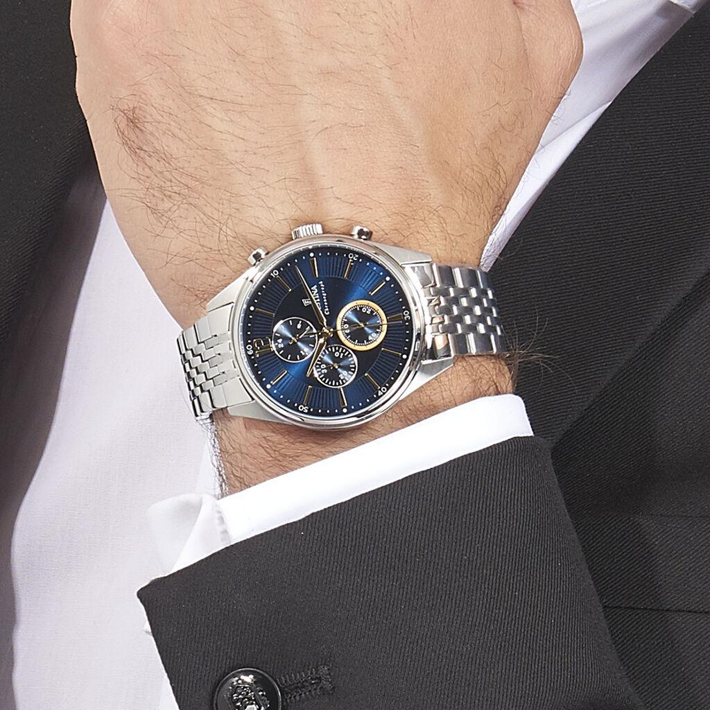 Montre Festina Timeless Chronograph Bleu - Montres Homme   Histoire d'Or