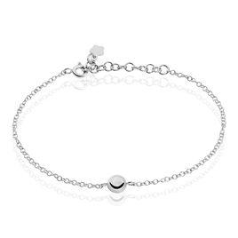 Bracelet Bilao Argent Blanc - Bracelets fantaisie Femme | Histoire d'Or
