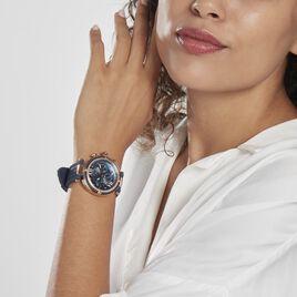 Montre Gc Cablechic Nacre Bleue - Montres Femme   Histoire d'Or