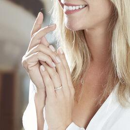 Bague Davila Or Jaune Oxyde De Zirconium - Bagues avec pierre Femme | Histoire d'Or