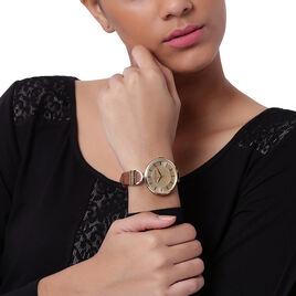 Montre Armani Exchange Doré - Montres Femme | Histoire d'Or