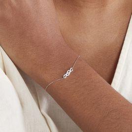 Bracelet Ursulla Or Blanc Diamant - Bijoux Femme | Histoire d'Or
