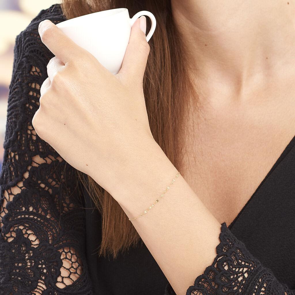 Bracelet Fileana Or Jaune - Bracelets chaîne Femme | Histoire d'Or