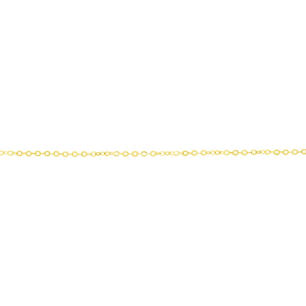 Chaîne De Cheville Rinda Or Jaune - Bijoux Coeur Femme | Histoire d'Or
