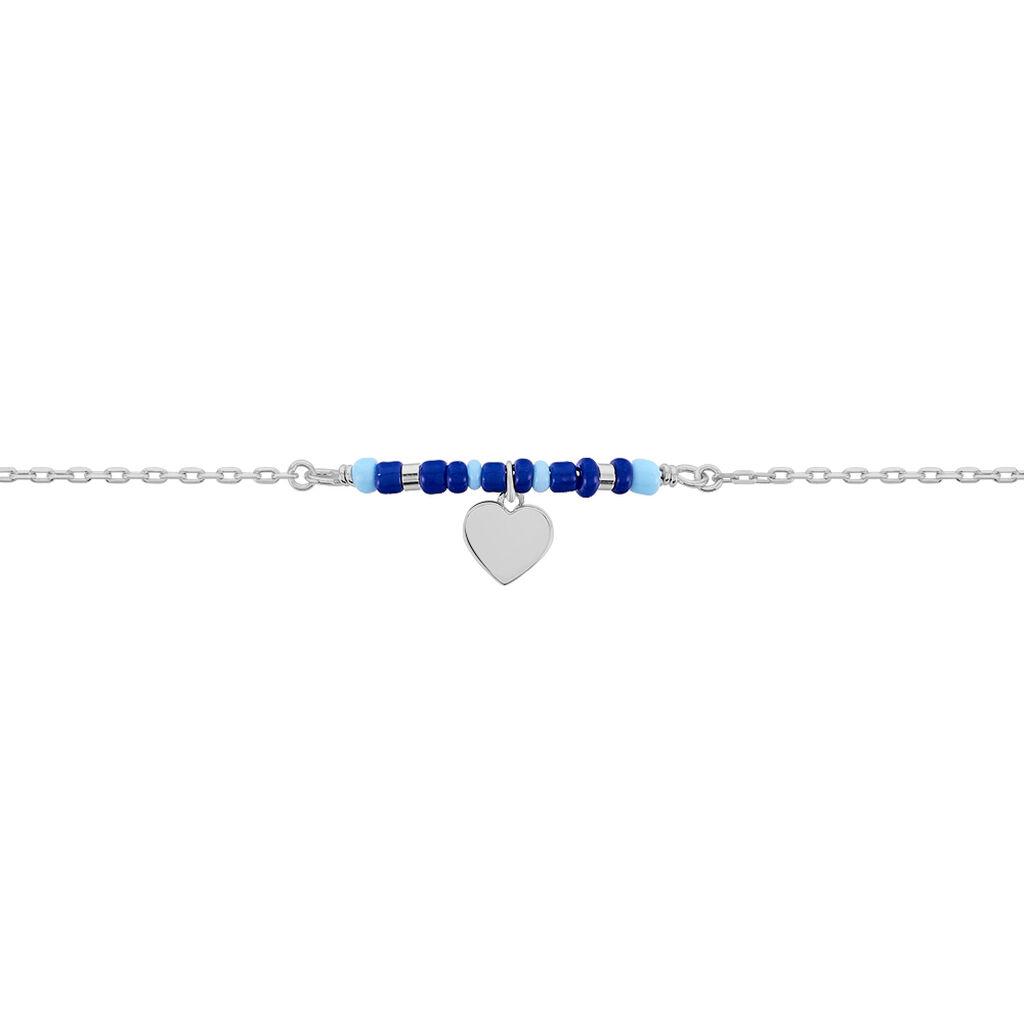 Bracelet Cala Argent Blanc Perle D'imitation - Bracelets fantaisie Femme   Histoire d'Or