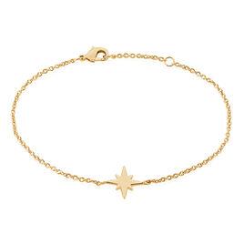 Bracelet Alisee Plaque Or Jaune - Bijoux Etoile Femme | Histoire d'Or