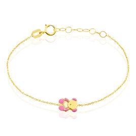 Bracelet Bobina Ourson Or Jaune - Bracelets Naissance Enfant   Histoire d'Or