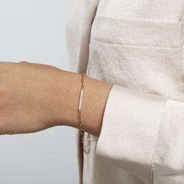 Bracelet Plaqué Or Maimiti Oxydes De Zirconium - Bracelets fantaisie Femme | Histoire d'Or