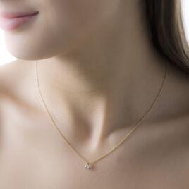 Collier Nomena Or Jaune Diamant - Bijoux Femme | Histoire d'Or