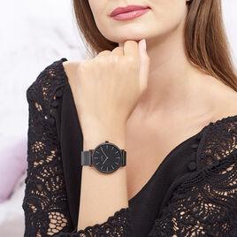 Montre Cluse Boho Chic Noir - Montres tendances Femme | Histoire d'Or