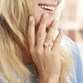Bague Mireya Or Jaune Oxydes - Bagues avec pierre Femme | Histoire d'Or