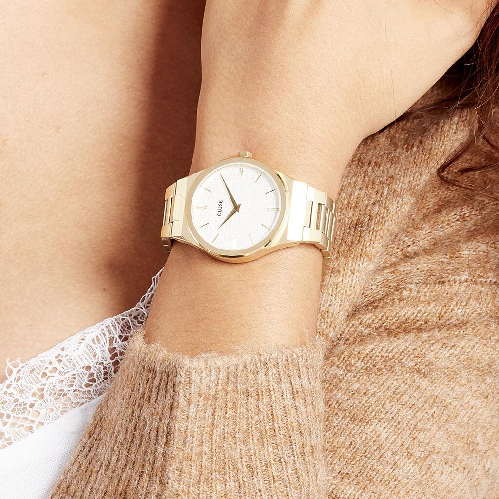 Montre Cluse Vigoureux Blanc - Montres classiques Femme | Histoire d'Or