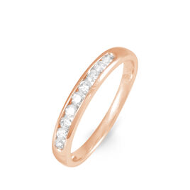 Alliance Giulia Or Rose Diamant - Alliances Femme | Histoire d'Or