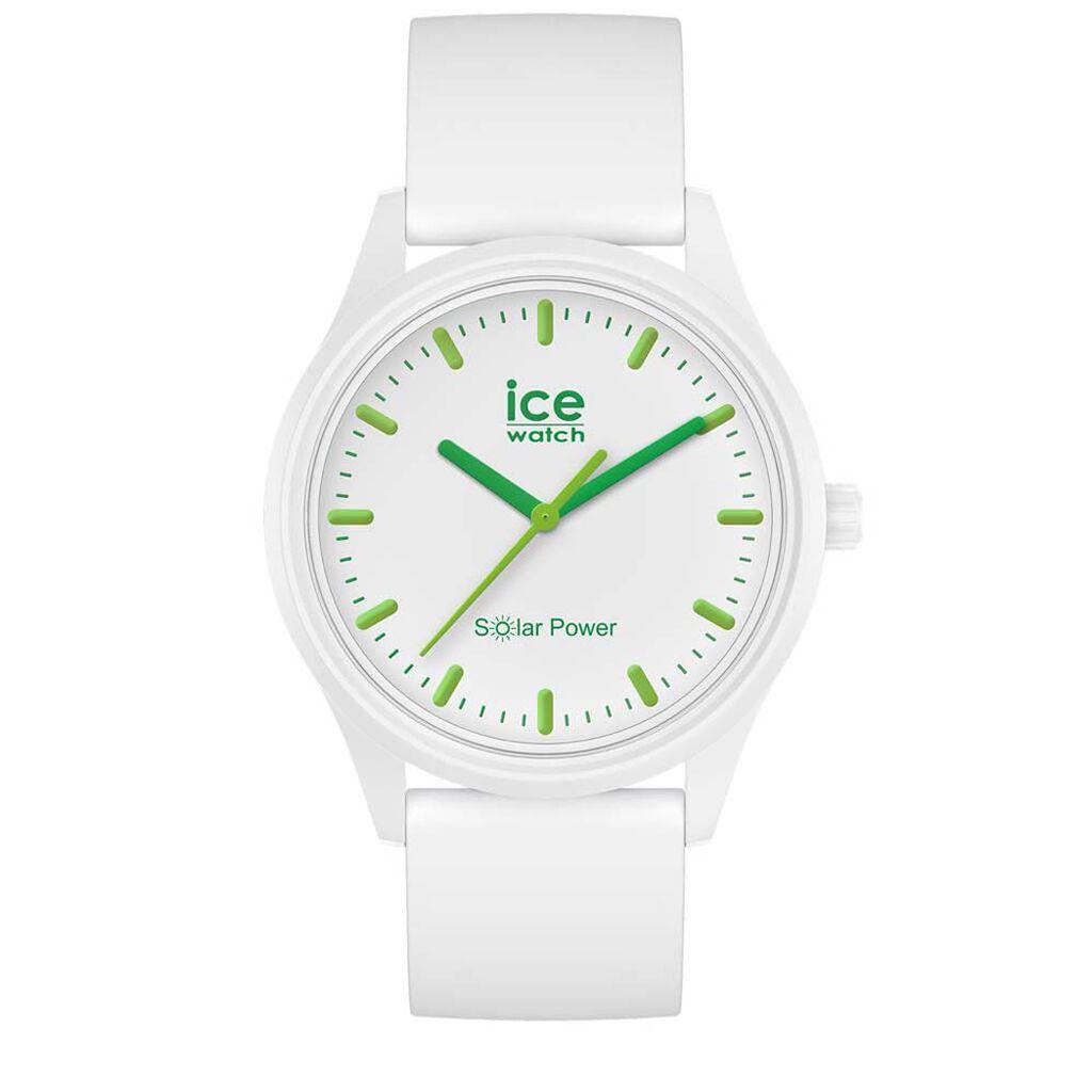 Montre Ice Watch Solar Power Blanc - Montres tendances Unisexe   Histoire d'Or