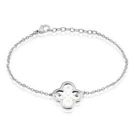 Bracelet Avel Acier Blanc - Bracelets fantaisie Femme   Histoire d'Or