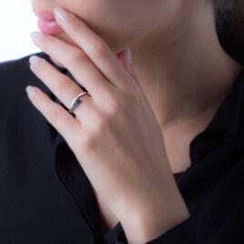 Bague Nohane Or Blanc Diamant - Bagues avec pierre Femme | Histoire d'Or