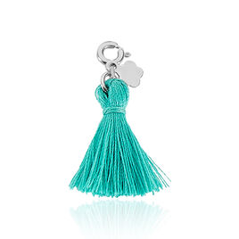 Charms Pommpomm Argent Blanc - Charms Femme | Histoire d'Or