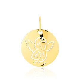 Medaille Or Jaune Ange Amarante - Naissance Enfant | Histoire d'Or