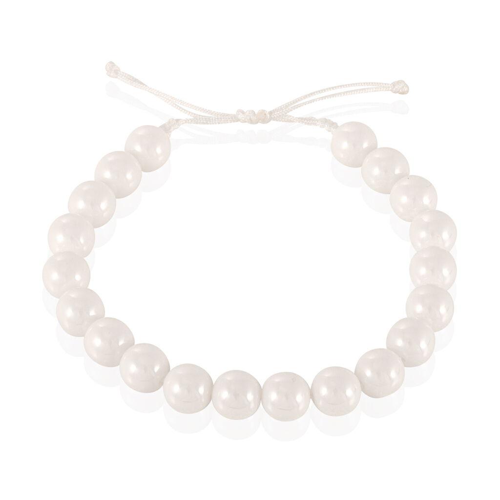 Bracelet Workhiya Ceramique Blanc Céramique - Bracelets fantaisie Femme | Histoire d'Or