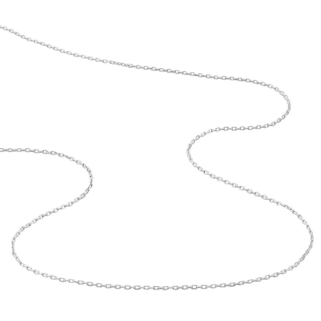 Chaîne Maille Forçat Argent Blanc - Chaines Homme | Histoire d'Or