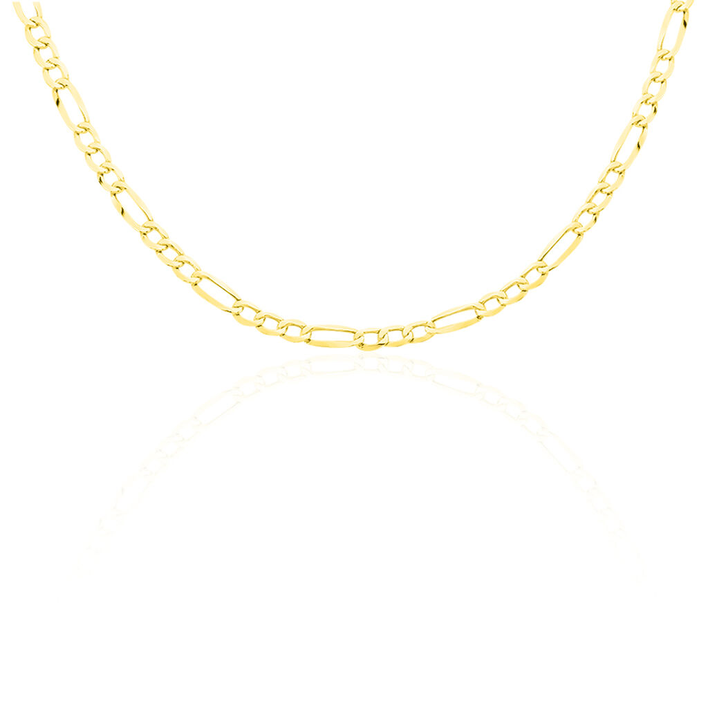 Chaîne Cameo Maille Alternee 1/3 Or Jaune - Chaines Homme   Histoire d'Or