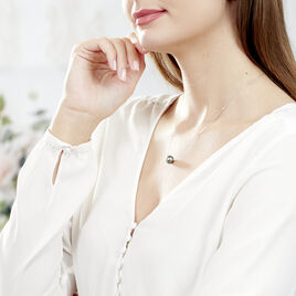 Collier Sissy Or Blanc Perle De Culture De Tahiti - Bijoux Femme   Histoire d'Or