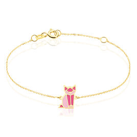 Bracelet Orelia Chat Or Jaune - Bracelets Naissance Enfant | Histoire d'Or