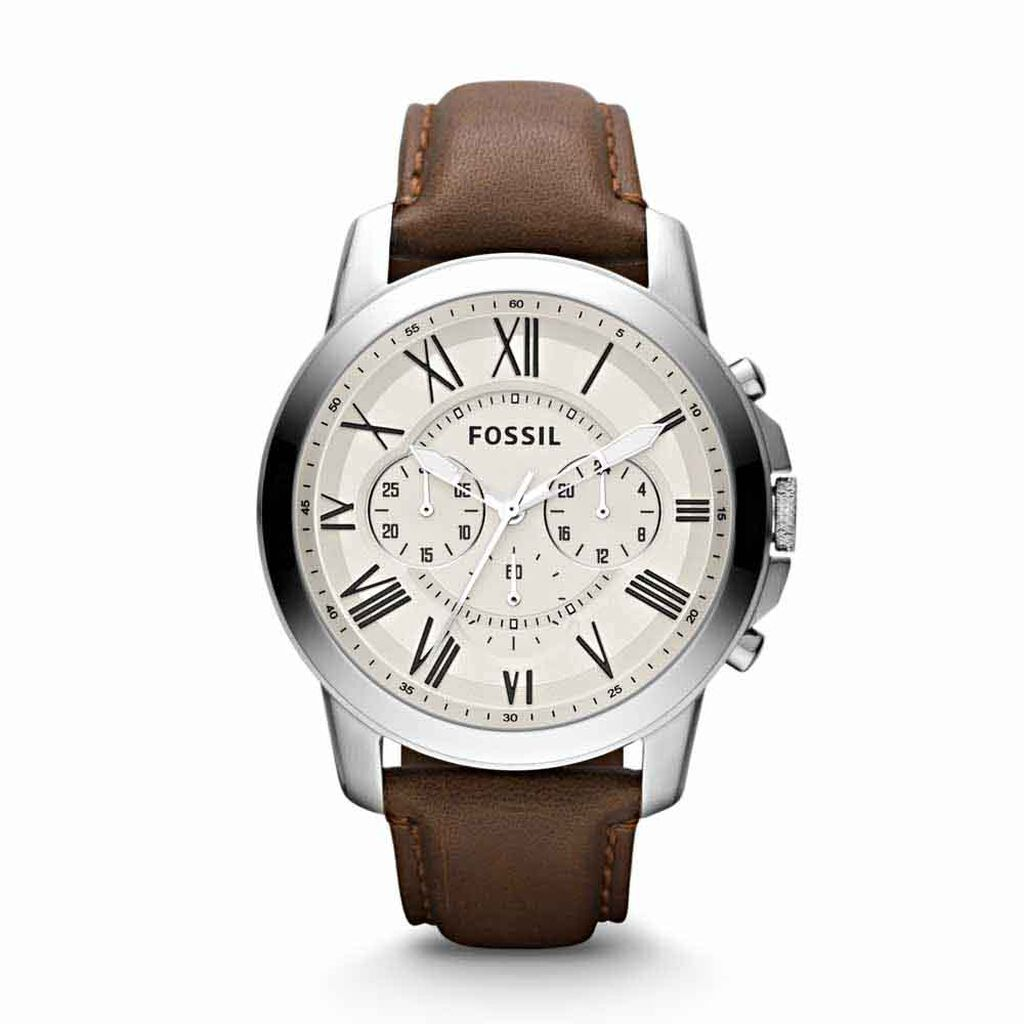 Montre Fossil Grant Beige