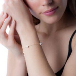 Bracelet Maile Or Jaune Strass - Bijoux Femme | Histoire d'Or