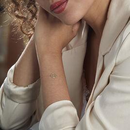 Bracelet Or Bicolore Solidage - Bracelets Arbre de vie Femme   Histoire d'Or