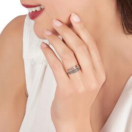 Bague Yayi Or Rose Diamant - Bagues avec pierre Femme | Histoire d'Or