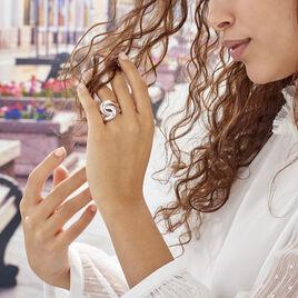 Bague Chaili Argent Blanc - Bagues fantaisie Femme | Histoire d'Or