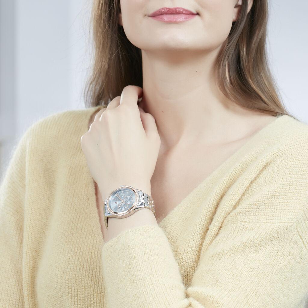 Montre Tommy Hilfiger Ari Bleu - Montres classiques Femme | Histoire d'Or