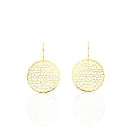 Boucles D'oreilles Pendantes Caterina Or Jaune - Boucles d'oreilles pendantes Femme | Histoire d'Or