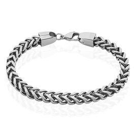 Bracelet Manuel Acier Blanc - Bracelets chaîne Homme | Histoire d'Or