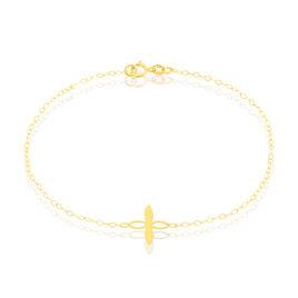 Bracelet Malvina Fleur Or Jaune - Bijoux Femme | Histoire d'Or