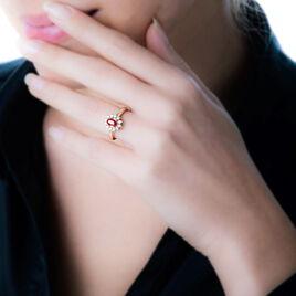 Bague Vladimir Or Jaune Rubis Et Diamant - Bagues avec pierre Femme | Histoire d'Or