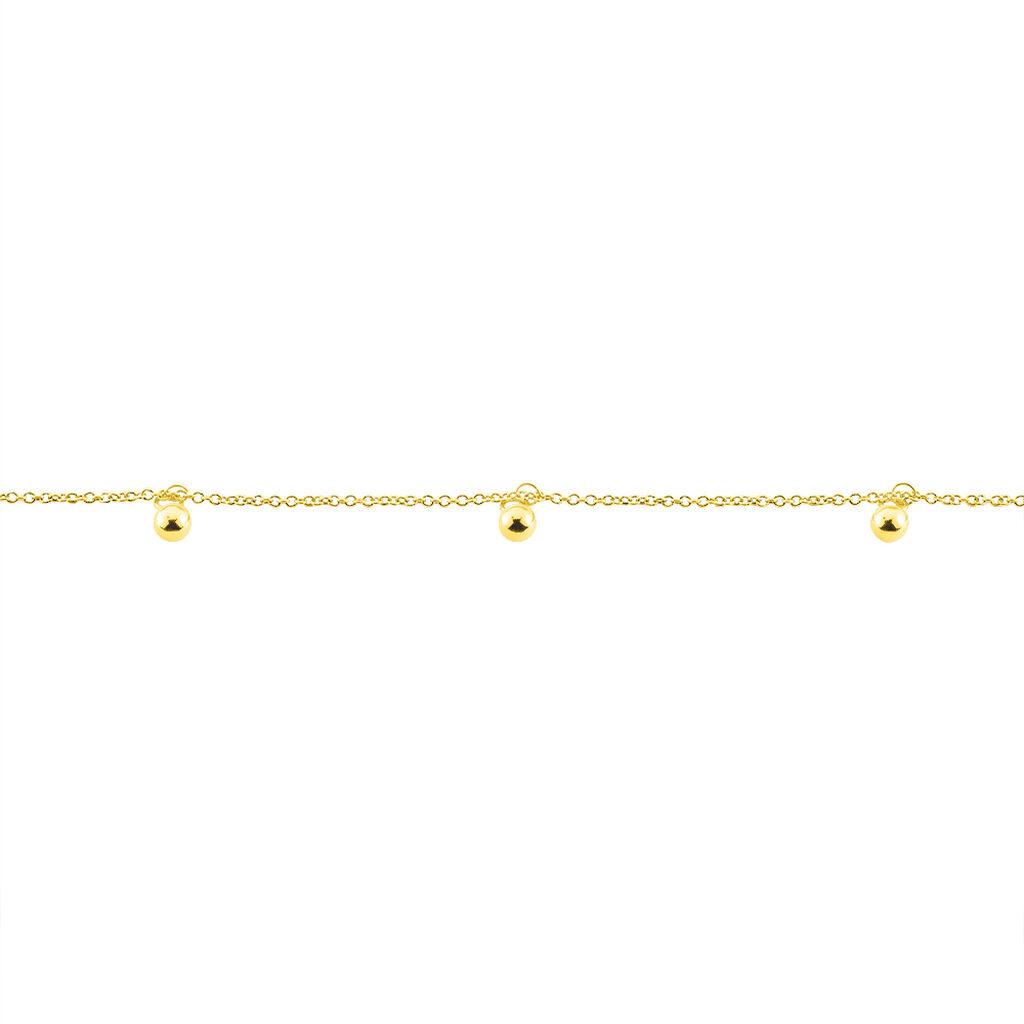 Chaîne De Cheville Bethanie Or Jaune - Chaînes de cheville Femme | Histoire d'Or