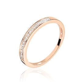 Bague Mayahae Or Rose Diamant - Bagues avec pierre Femme | Histoire d'Or
