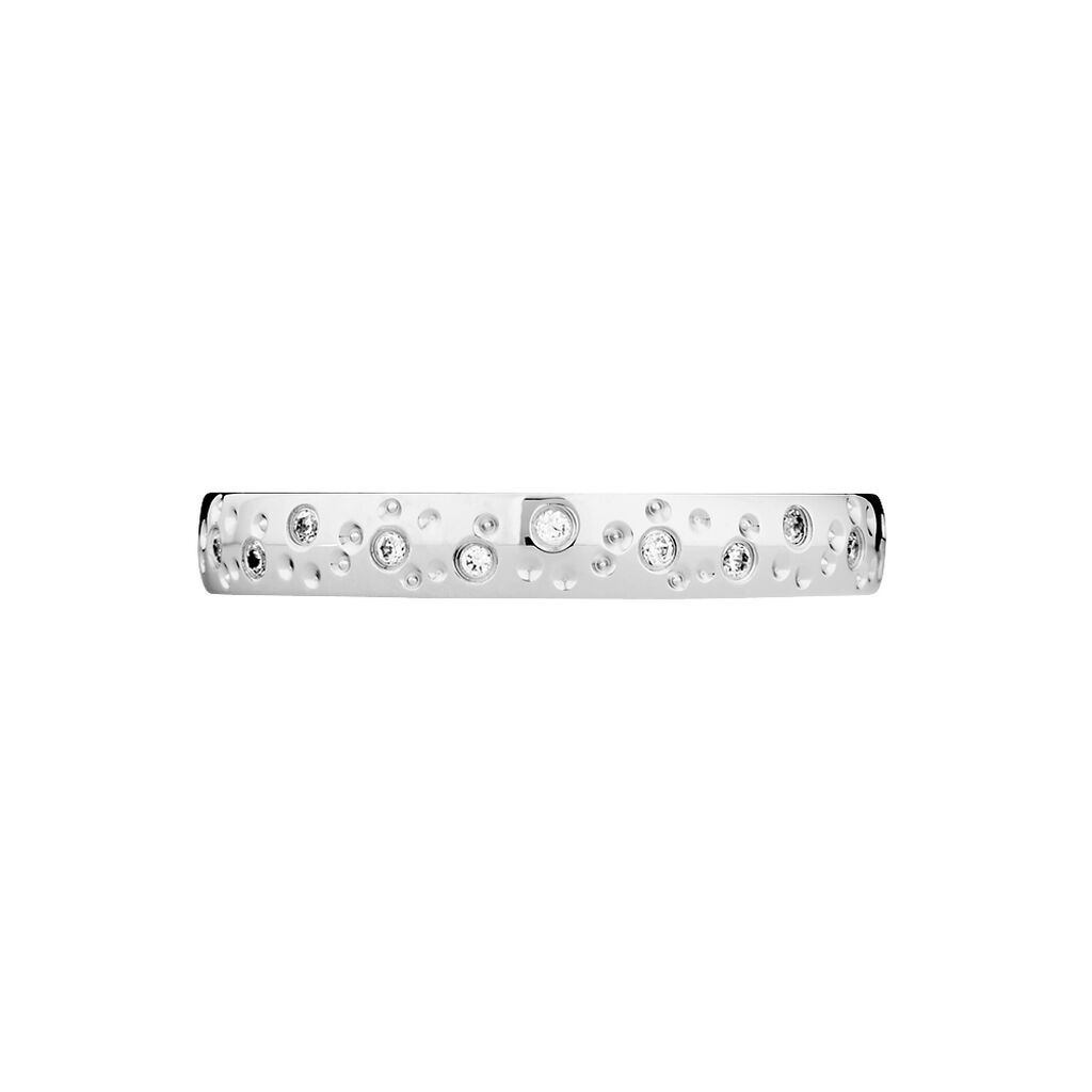 Alliance Elberta Or Blanc Diamant - Alliances Femme | Histoire d'Or