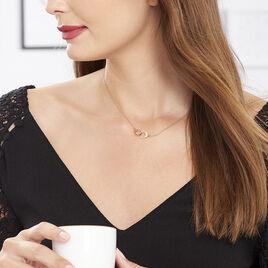 Collier Kim Argent Rose - Colliers fantaisie Femme | Histoire d'Or