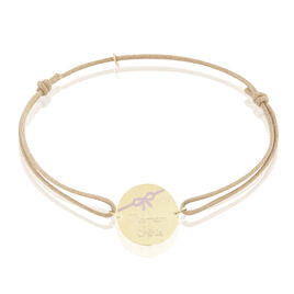 Bracelet Oregane Or Jaune - Bracelets cordon Femme   Histoire d'Or