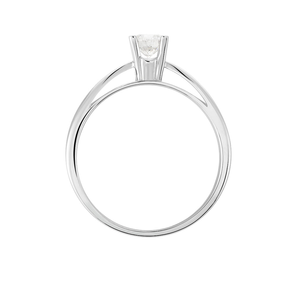 Bague Solitaire Celina Or Blanc Diamant