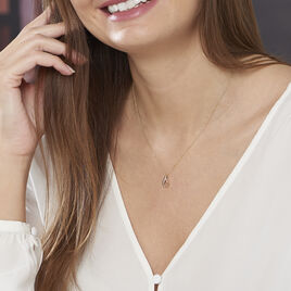 Collier Goccie Or Jaune Diamant - Bijoux Femme | Histoire d'Or